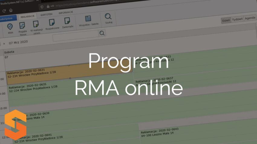 Program RMA online