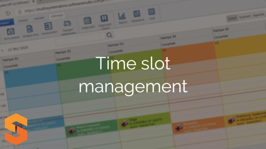 Time slot management